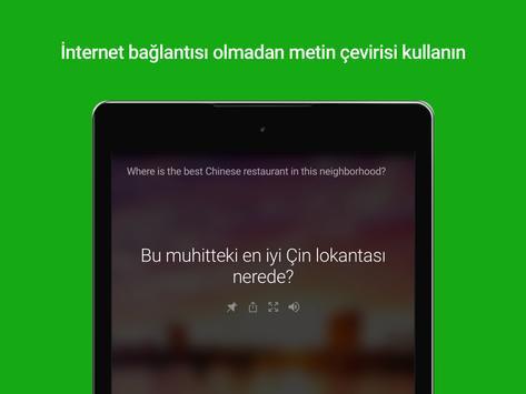 Microsoft Çevirmen Ekran Görüntüsü 5