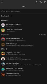 Xbox beta capture d'écran 1