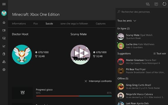 Xbox beta capture d'écran 5