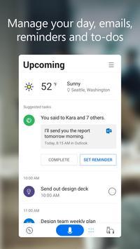 Microsoft Cortana – Digital assistant capture d'écran 1
