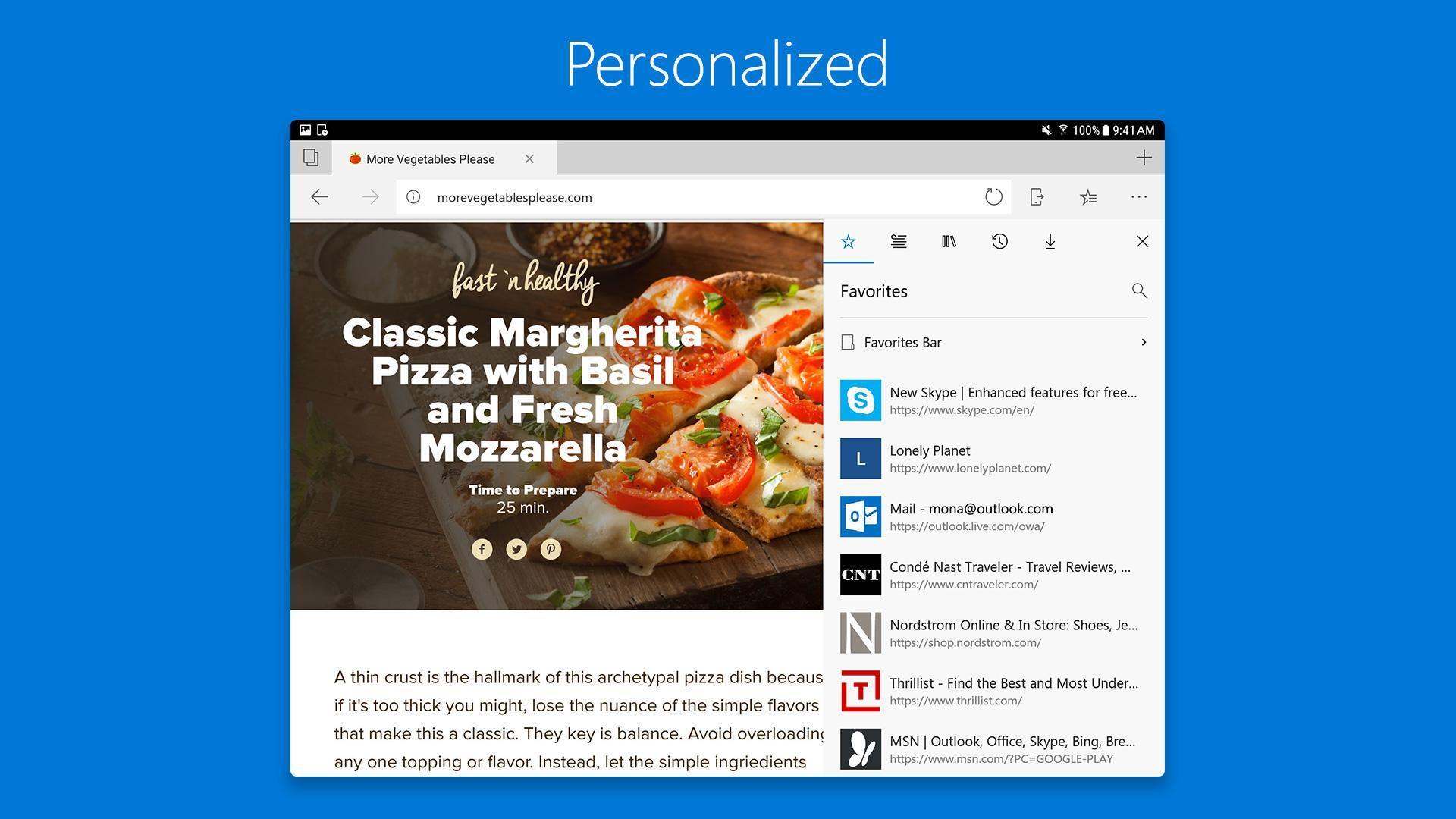 Microsoft Edge for Android - APK Download