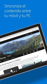 Microsoft Edge captura de pantalla 1