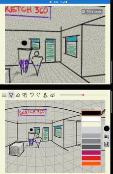 Sketch 360 captura de pantalla 9