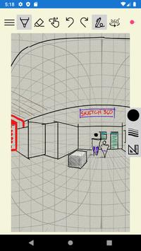 Sketch 360 captura de pantalla 2