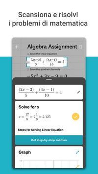 1 Schermata Microsoft Math Solver
