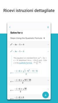2 Schermata Microsoft Math Solver