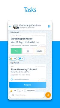 Microsoft Kaizala – Chat, Call & Work screenshot 2