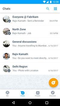 Microsoft Kaizala – Chat, Call & Work screenshot 5