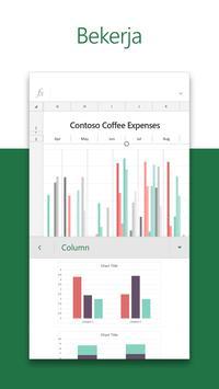 Microsoft Excel: Lihat, Edit & Cipta Hamparan syot layar 2