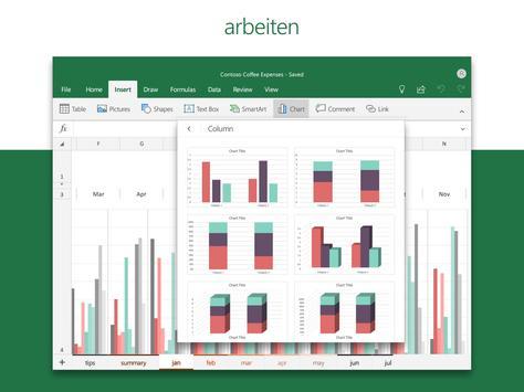 Microsoft Excel: Tabellen anzeigen und erstellen Screenshot 12