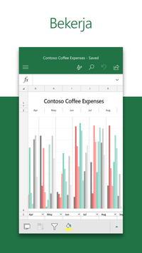 Microsoft Excel: Buka, Edit, & Buat Lembar Bentang poster