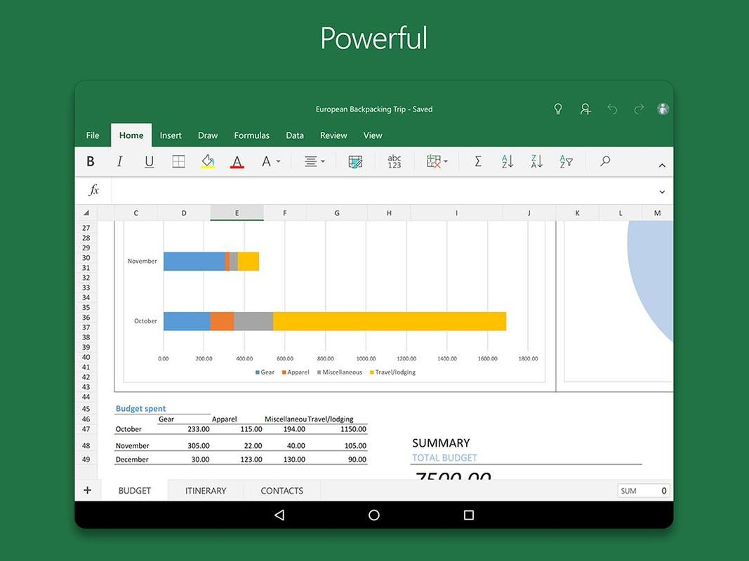 ms excel download for pc