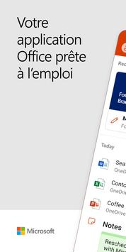 Microsoft Office: Word, Excel, PowerPoint, etc. Affiche