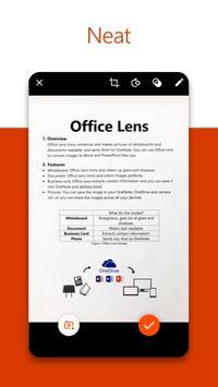 Microsoft Office Lens - PDF Scanner screenshot 1