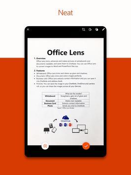 Microsoft Office Lens - PDF Scanner screenshot 6