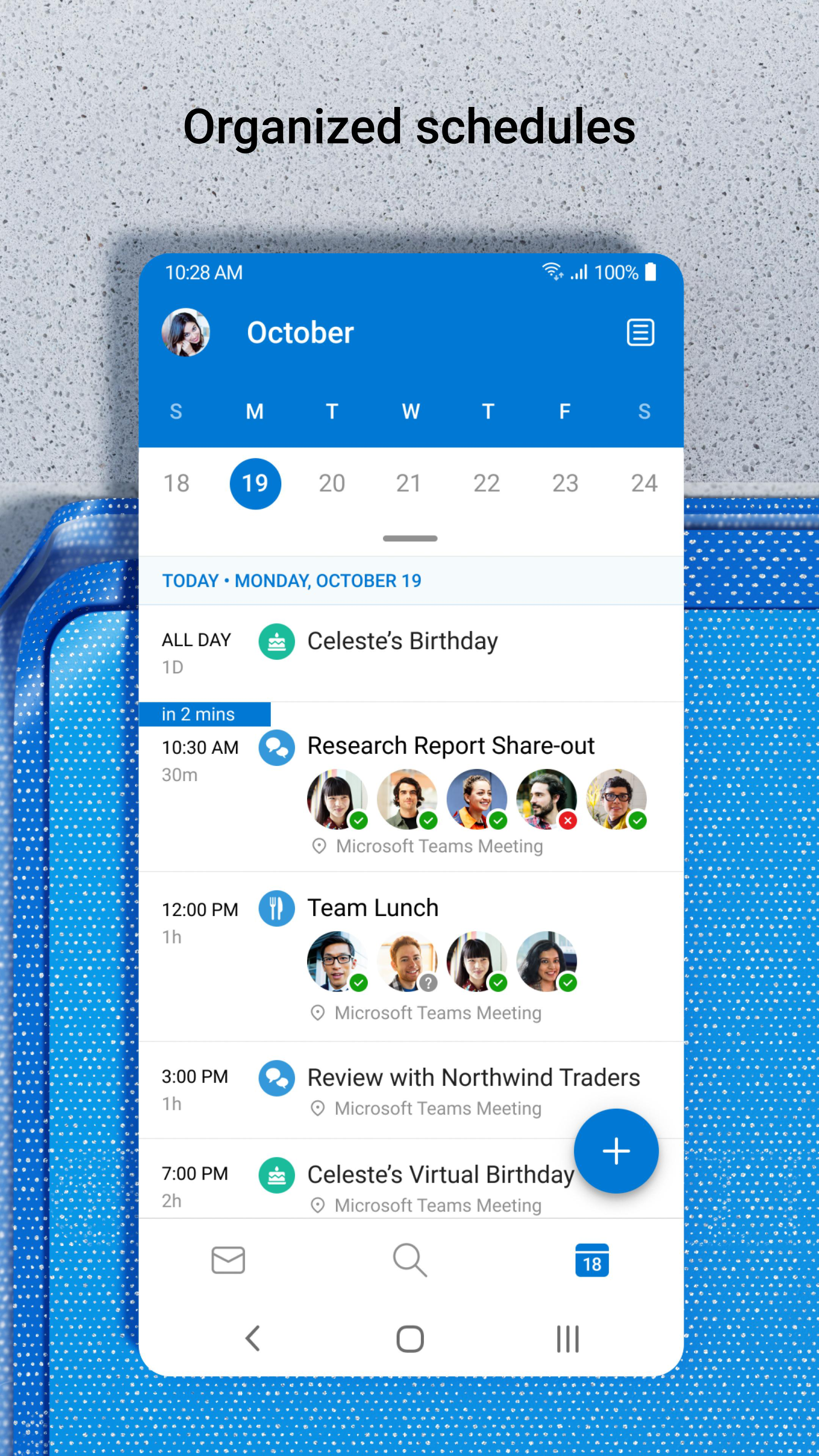 Microsoft Outlook: Secure email, calendars & files poster