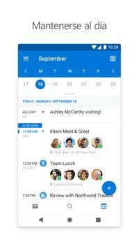 Microsoft Outlook captura de pantalla 4