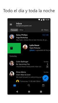 Microsoft Outlook captura de pantalla 1