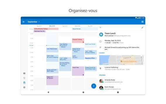 Microsoft Outlook capture d'écran 9