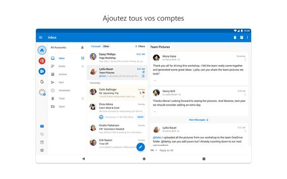 Microsoft Outlook capture d'écran 10