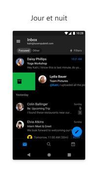 Microsoft Outlook capture d'écran 1
