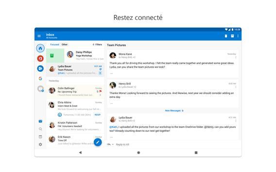 Microsoft Outlook capture d'écran 6