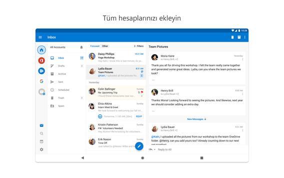 Microsoft Outlook Ekran Görüntüsü 10