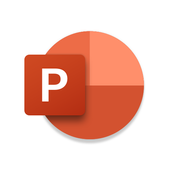 MS PowerPoint: diavoorstellingen en presentaties-icoon