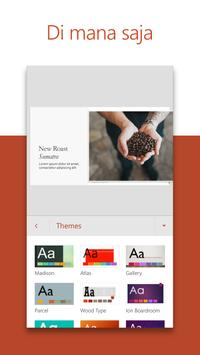 Microsoft PowerPoint: Slide Presentasi screenshot 1