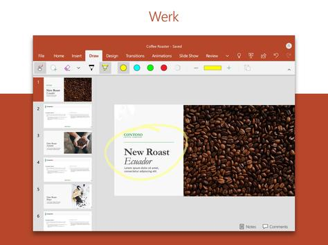 MS PowerPoint: diavoorstellingen en presentaties screenshot 2