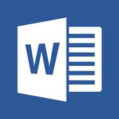 Microsoft Word أيقونة