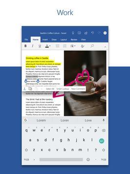 Microsoft Word: Write, Edit & Share Docs on the Go screenshot 7