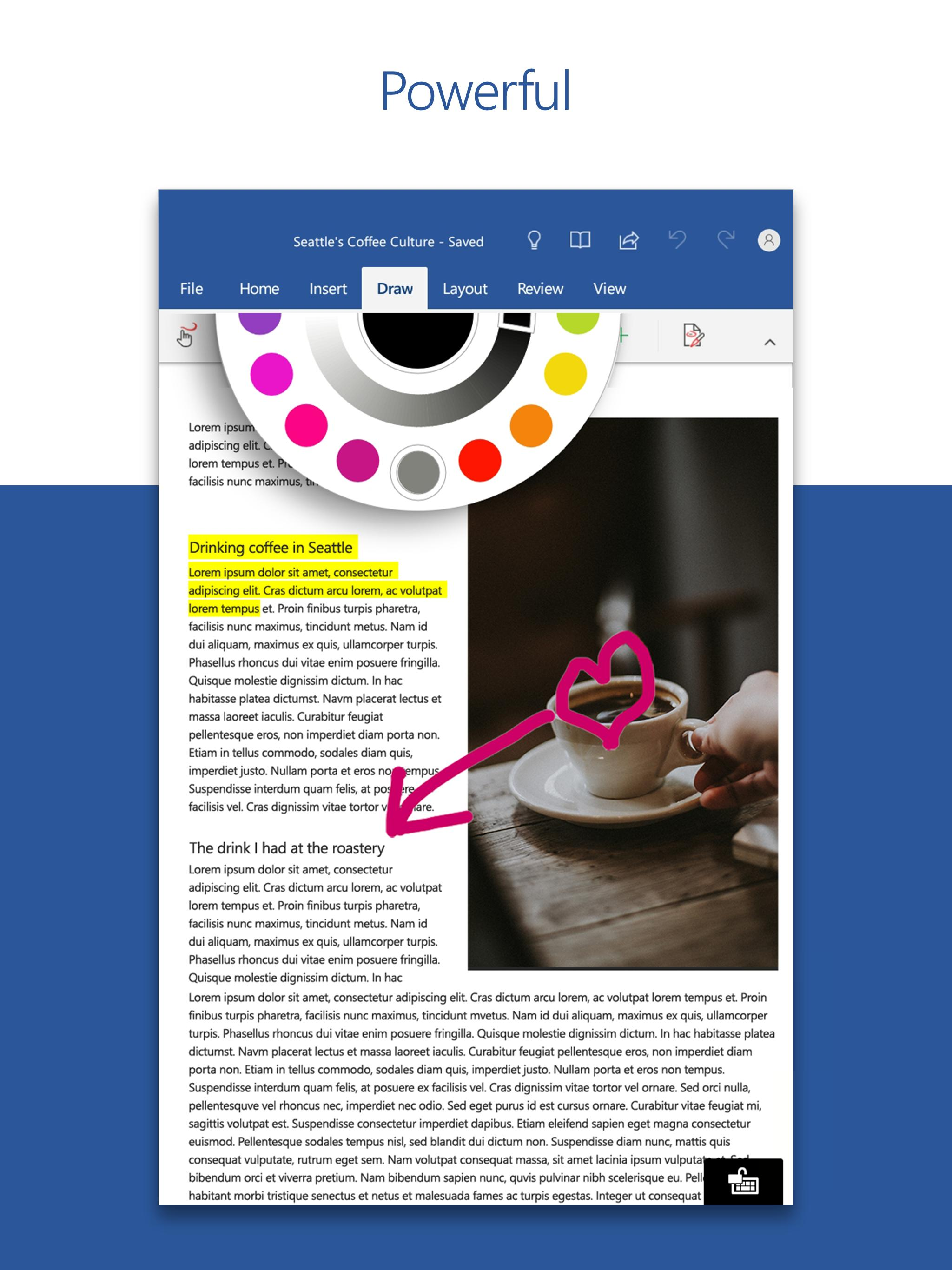 Microsoft Word: Write, Edit & Share Docs on the Go for Android - APK