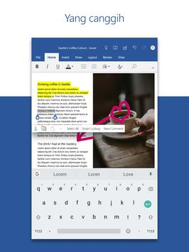Microsoft Word: Buat & Edit Dokumen di mana pun screenshot 12