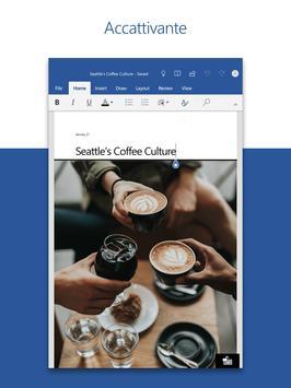 10 Schermata Microsoft Word: lavora in movimento