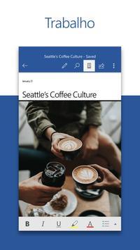 Microsoft Word: Editar e Partilhar Documentos Cartaz