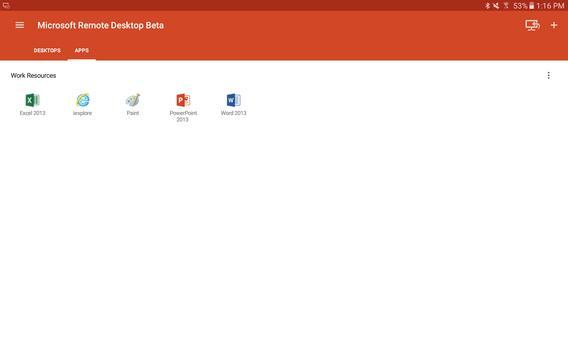 Microsoft Remote Desktop Beta 스크린샷 8