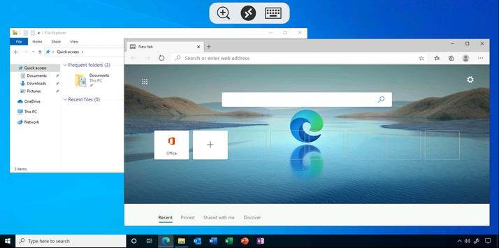 Remote Desktop imagem de tela 2