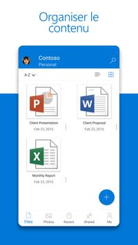 Microsoft OneDrive capture d'écran 3