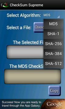 CheckSum Supreme screenshot 2