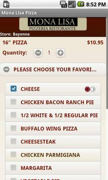 Mona Lisa Pizza screenshot 2