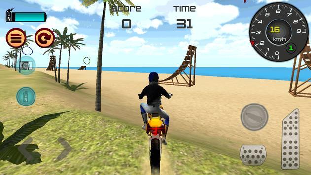 Motocross Beach Jumping screenshot 9