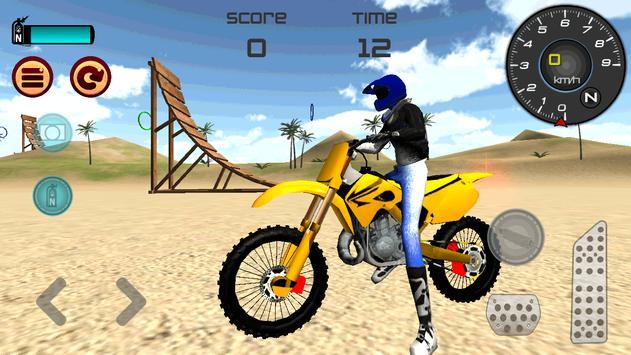 Motocross Beach Jumping screenshot 10