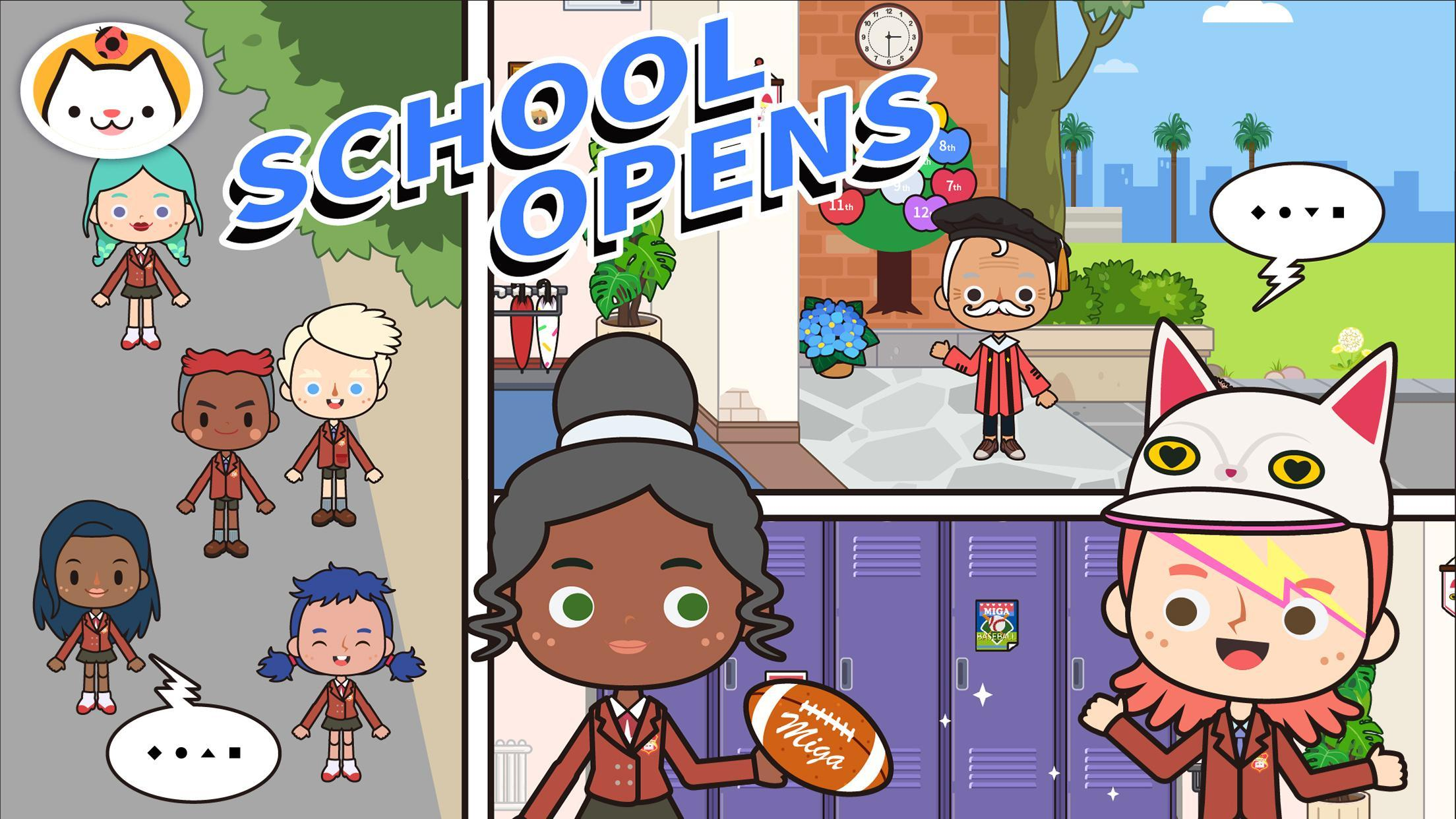 Miga Town: My School for Android - APK Download