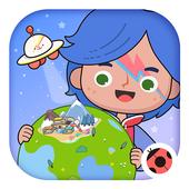 Miga cidade:mundo ícone