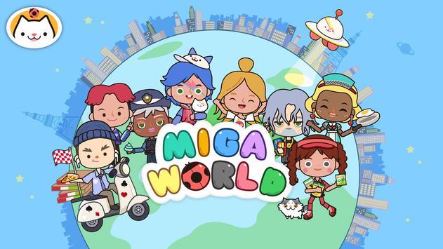 Miga cidade:mundo Cartaz
