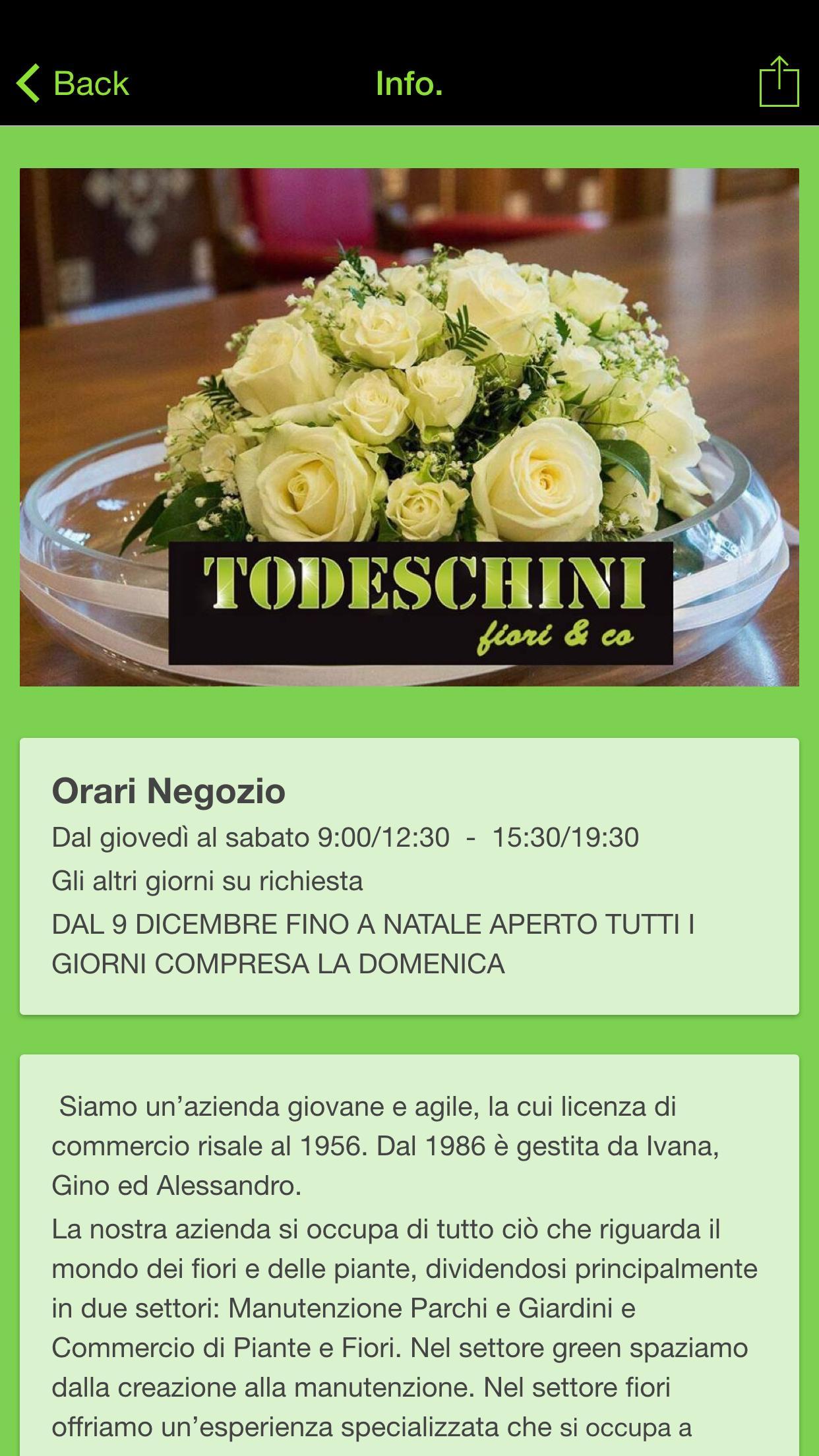 Immagini Piante E Fiori todeschini fiori & co. for android - apk download
