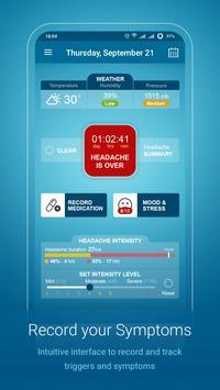 Migraine Monitor capture d'écran 2