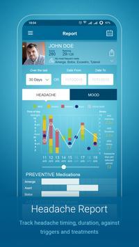 Migraine Monitor capture d'écran 4