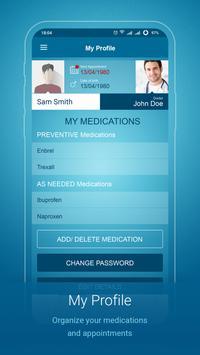 Migraine Monitor capture d'écran 5